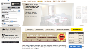 Brit Hotel Les Evens