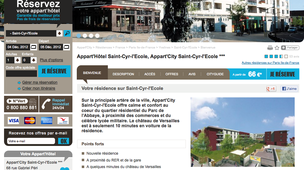 Appart'City Saint-Cyr-l'Ecole